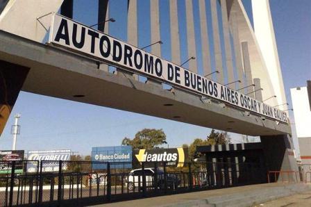 El Oscar y Juan Gálvez capitalino recibirá el Super TC 2000 este fin de semana.