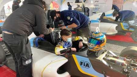 Fórmula 4 Argentina - El bahiense Braian Quevedo obtuvo un 2° y un 4° lugar.