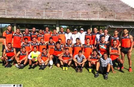 Fútbol Paraguayo - Deportivo Santaní con Litre finalizó la pretemporada.