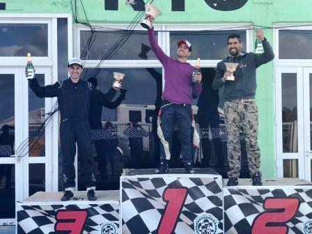 Karting - Diego Fabi y Braian Quevedo los ganadores en Viedma.