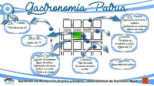 Guía de propuestas gastronómicas para para la Fiesta Patria del 25 en Pigüé