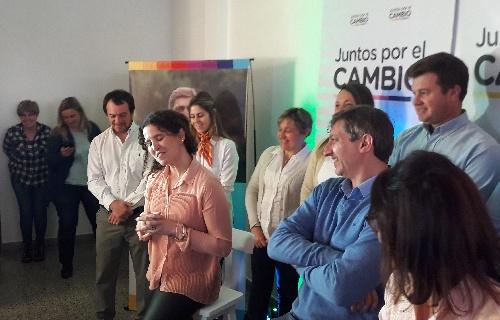 """Juntos por el Cambio: Ana Lucia Garcia """" lo vamos a lograr """""""