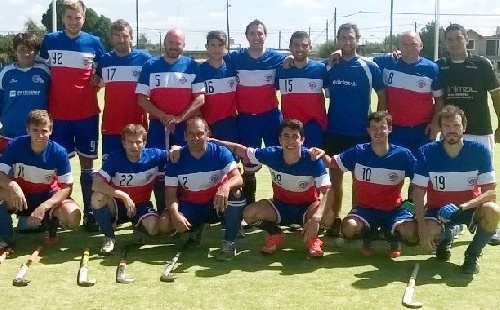 Hockey Masculino - Triunfo del Cef 83 y liderazgo con puntaje ideal.
