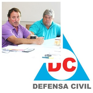 Reunión de Defensa Civil y Bomberos de nuestra región serrana