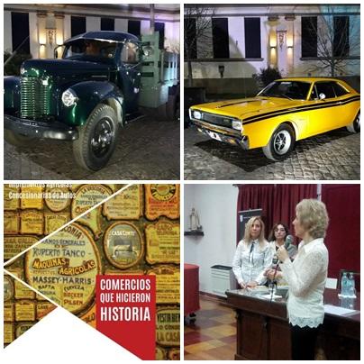 Autos y comercios piguenses de colección
