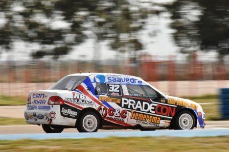 Turismo Regional - Con su victoria en serie y en la final Eloy Huarte se aproxima al título.