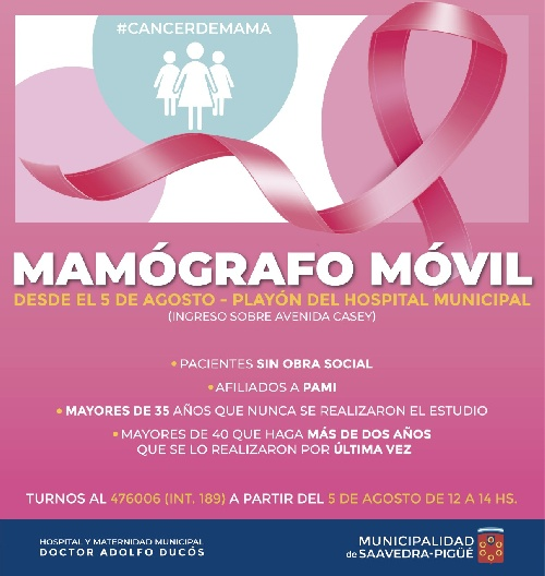 Mamógrafo móvil
