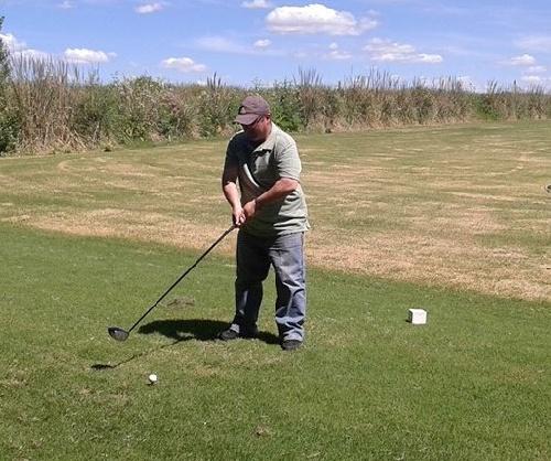 Golf - Nestor Rausch ganador en su categoría en el club local.