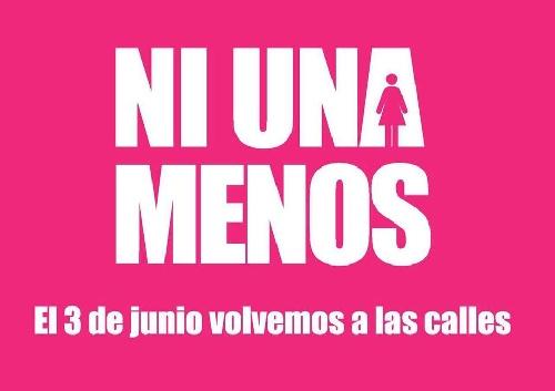 """""""Ni Una Menos"""" :coincidente con la convocatoria nacional, Pigüé también tendrá su movilización contra la violencia de género"""