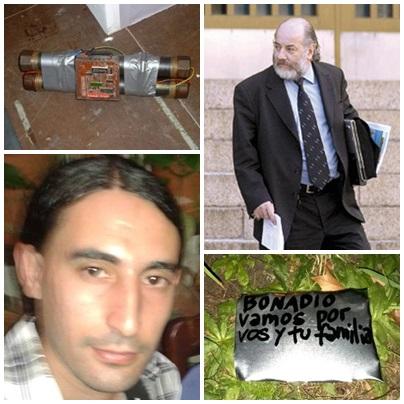 Los vínculos de los atentados con bombas al juez Bonadio y Recoleta