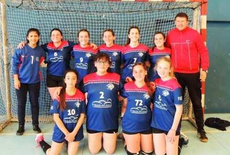 Handball Femenino - El Cef 83 en Juveniles y Menores y una excelente actuación.