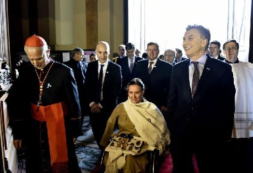 """MENSAJE A LA POLÍTICA Poli pidió """"redoblar esfuerzos"""" ante """"el dolor de los más pobres"""""""