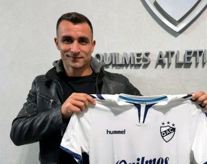 Nacional B - Martín Prost firmó con Quilmes y será compañero de Leo González.