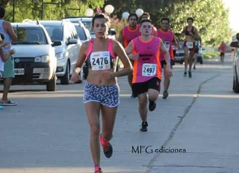 Maratón 6 ciudades - Trenque Lauquen - Yani Clair 1ra en su categoría y 3ra en la general.
