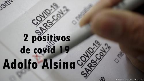 Adolfo Alsina registró los dos primeros casos de covid 19 en su distrito