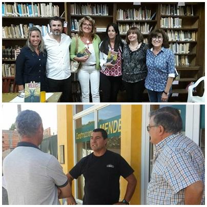Actividad en Pigüé de los concejales oficialistas de Unidad Peronista