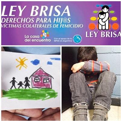 Ley Brisa, el proyecto que ampara a los hijos de víctimas de femicidio