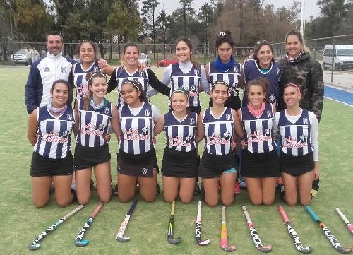 Hockey Femenino - Club Sarmiento derrotó a Deportivo Sarmiento en 1ra y en Sub 14.