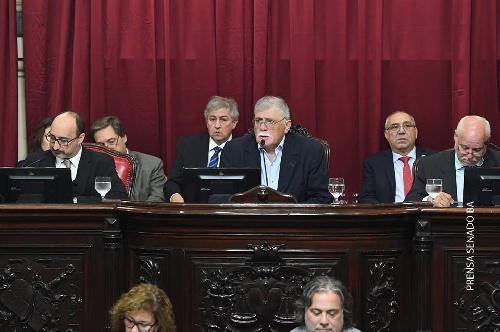 HORACIO LÓPEZ PRESIDIÓ LA TERCERA SESIÓN ORDINARIA DEL SENADO BONAERENSE