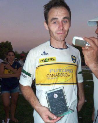 LRF - Vladimiro Gómez convirtió en el empate de Boca ante Deportivo.