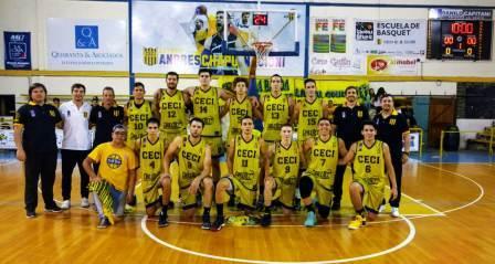 Basquet Santa Fe - Ceci BC venció en Villa Trinidad con 14 puntos de Biscaychipy.