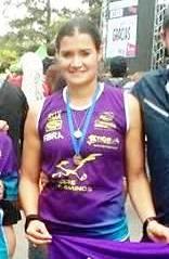 Atletismo - Natalia Astesana participó de la Maratón Internacional de Mar del Plata.
