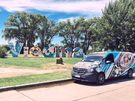 Turismo Carretera - Presentación de la categoría en Las Grutas.