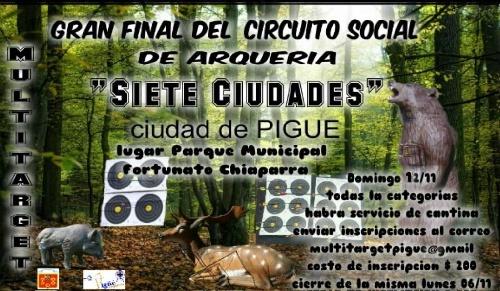 Arquería Tiro Federal Pigüé: Final del Torneo 7 ciudades en Pigüé