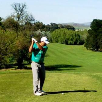 Golf - Fabian Reyna resultó 2° en el Palihue bahiense.