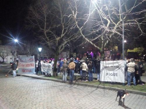 Pigüé: Manifestaron contra el gobierno nacional y llamaron a no votarlo