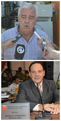 Corvatta fue crítico con Cambiemos , en particular con el concejal Luis Sevenié respecto de  la gestión del  equipo para tratar residuos hospitalarios