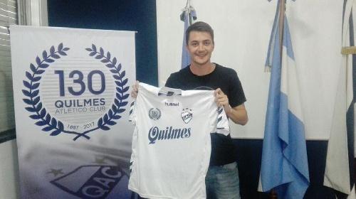 Nacional B - Leandro González a punto de debutar en Quilmes el próximo domingo.
