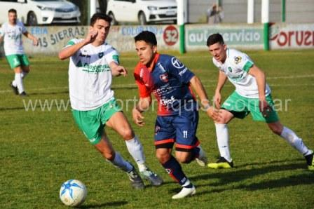 LRF - Peñarol empató con Unión en Tornquist en el adelanto de la 5ta fecha.