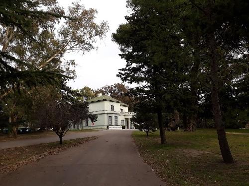 Vándalos  realizaron nuevamente destrozos en el Parque Municipal de Pigüé