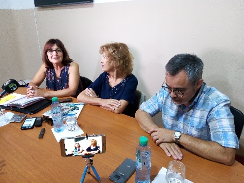 Actividades de la científica piguense Norma Sbarbati Nudelman en la ciudad
