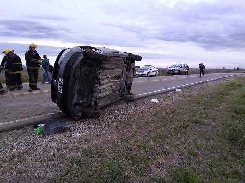 Otro accidente en la RP 67 a pocas horas del ocurrido éste domingo