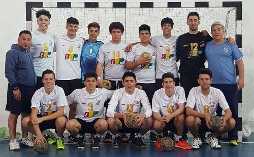 Victoria del equipo de Balonmano de la Asociación en Juveniles ante Pehuajó.