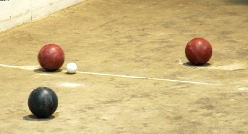 Bochas - Saavedra llegó a semifinales del Torneo Provincial - Zarate fue el campeón.