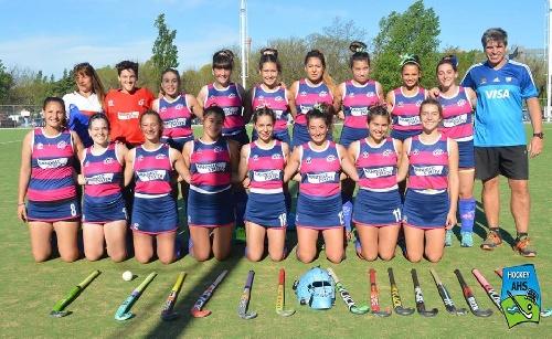 Hockey Femenino - Victoria del Cef 83 ante Peñarol en 1ra división y es finalista del Clausura.