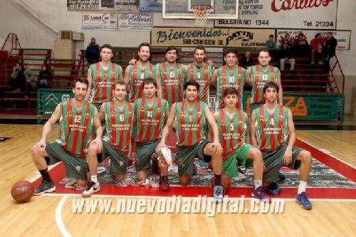 Basquet Provincial - Damián Palma forma parte del plantel de Deportivo Sarmiento que el viernes comienza el torneo.