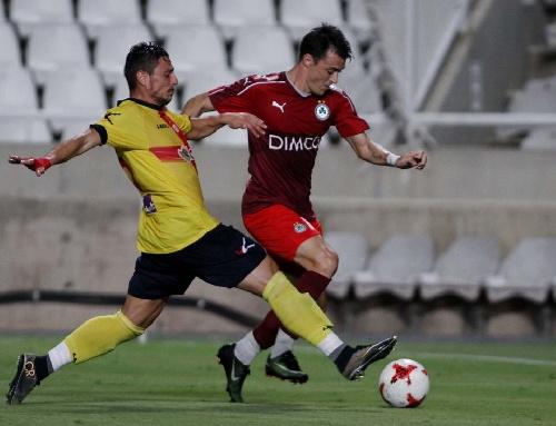 Futbol Chipriota - Con gol de Leandro González, el Omonia empató en amistoso.