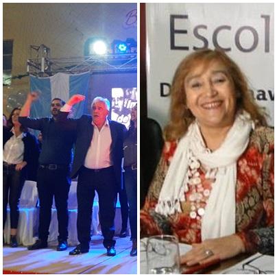 Homenaje a Marta Paniagua en la presentación de los candidatos del Frente de Todos