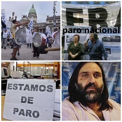 PIGÜÉ: BAJO ACATAMIENTO AL PARO NACIONAL CONVOCADO POR LOS SINDICATOS DOCENTES