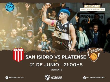 Liga Argentina - Platense y San Isidro igualan en uno la serie para el ascenso.