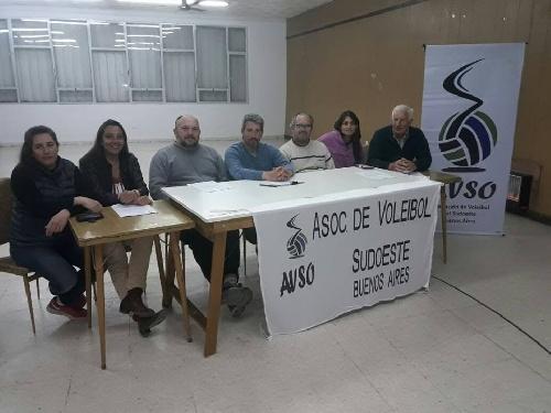 Se renovó la Comisión de la Asociación de Voley del Sud Oeste. Martín Benítez asumió como Secretario