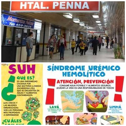 El nene es de Pigué : 6º caso de síndrome urémico hemolítico en Bahía