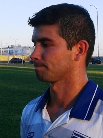 LRF - Emilio Romero deja Racing de Carhué para jugar en la Liga Cultural Pampeana.