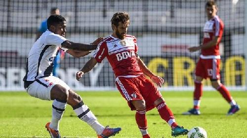 Derrota de River Plate ante Vasco da Gama lo deja fuera del podio.