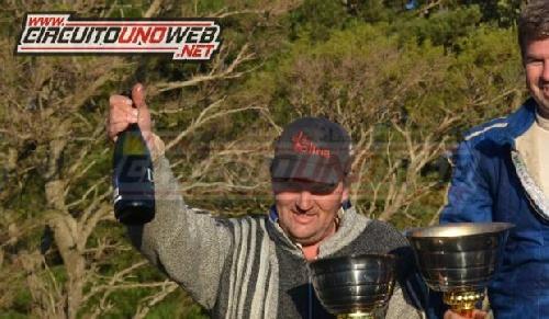 TC del 40 Sudeste - Rubén Guarino con chances de campeonato.