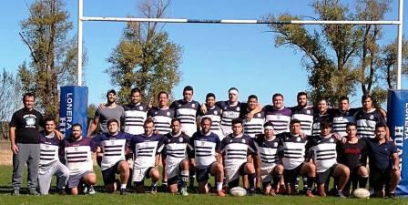 Rugby - Club Sarmiento como local enfrentó a Deportivo Patagones.